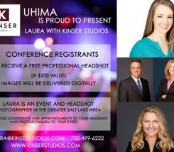 Free Professional Headshot at the UHIMA Annual Meeting